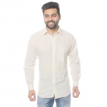 Organic Cotton Men's Shirt with Classic Collar