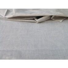 Organic Cotton Two Tone Fabric - Grey & Black