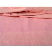 Organic Cotton Two Tone Fabric - Pink & Lemon