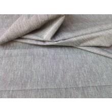 Organic Cotton Two Tone Fabric - Grey & Purple