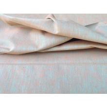 Organic Cotton Two Tone Fabric-  Pink & Green