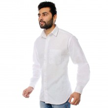 Men's Organic Cotton  Winter Shirt with Classic Collar