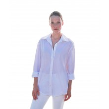 Women's Organic  Cotton White Shirt