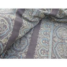 Organic Cotton Fabric - Winter Wonderland- Brown & Green
