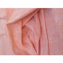 Organic Cotton Slub Fabric - Peachie