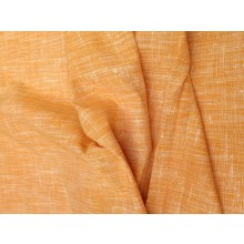 Organic Cotton Slub Fabric - Orange