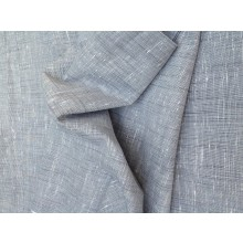 Organic cotton fabric - Slub Grey