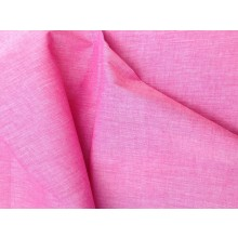 Organic Cotton Two Tone Fabric - In the Pink