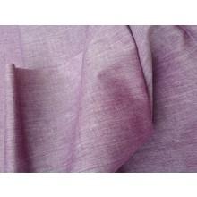 Organic Cotton Two Tone Fabric - Shades of Mauve