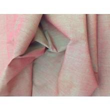 Organic Cotton Two Tone Fabric - Red & Green