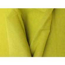 Oragnic Cotton Two Tone Fabric - Bright Greens