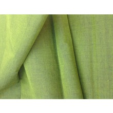 Organic Cotton Two Tone Fabric - Greens