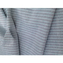 Organic Cotton Striped Fabric