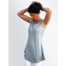 Organic Cotton  Sleeveless Tunic