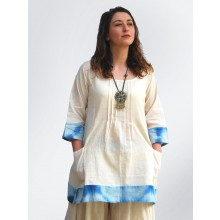 Organic Cotton  Tunic with Pockets